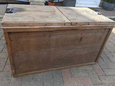 VINTAGE SOLID WOOD BLANKET CHEST. TOY BOX. STORAGE. COFFEE TABLE. Reduced 1 day