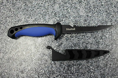 "Mustad 4"" Fillet Knife 10,16cm Klinge Messer Angelmesser Filetiermesser"