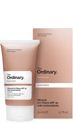 The Ordinary Mineral UV Filters SPF30 with Antioxidants 50ml/1.7oz Free Shipping