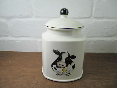 Arthur Wood Back To Front Cow Tea Biscuit Caddy Jar