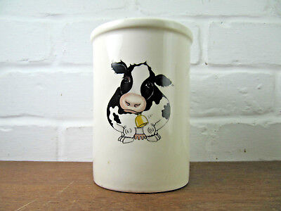 Arthur Wood Back To Front Cow Utensil Pot