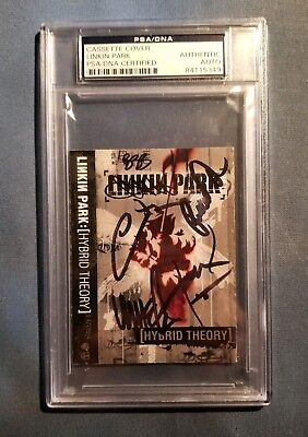 Chester Bennington Linkin Park Signed Autographed Hybrid Theory Cover PSA/DNA