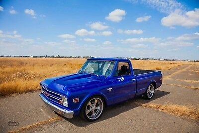 1972 Chevrolet C-10  1972 C10 shortbed LS3, 6 speed auto