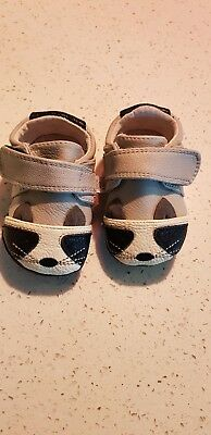 Jack and Lily grey baby shoes, genuine leather