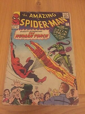 THE AMAZING SPIDERMAN #17 (Silver Age) 2nd Appearance The Green Goblin