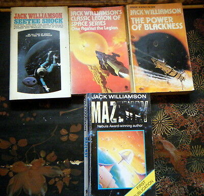 Four  Paperbacks By Jack Williamson