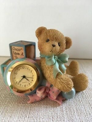 Cherished Teddies Once Upon A Time mit Uhr - 789987