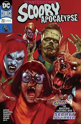 Scooby Apocalypse #23 Variant Cover Sold Out Dc Comic Book Mar 2018 New 1 Zombie