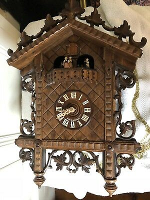 German Black forest style cuckoo clock - Musical
