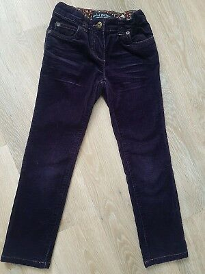 Girls Mini Boden Corduroy Jeans - Age 7