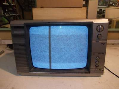 Televisore tv in bianco e nero philips 14tx3004-08 vintage
