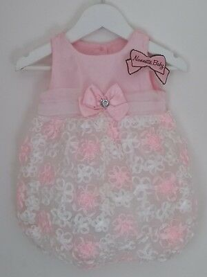 Nanette Baby USA Bubble Romper..baby gift/photoshoot prop/**BNWT**  6-12 Months