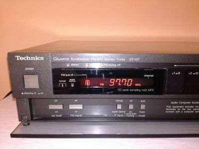 Technics  St G 7  2-Band, High End  Stereo Tuner