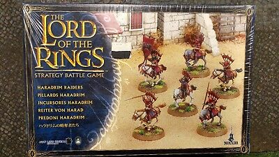 Haradrim & Abrhkn MULTILIST Lord Of The Rings/Middle Earth SBG Games Workshop