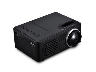 RD - 814 LED Mini Projector Portable 1080P Multimedia for Photo Music Movie Text