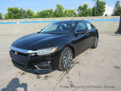 2019 Honda Insight Touring CVT Touring CVT New 4 dr Sedan CVT 1.5L 4 Cyl Crystal Black Pearl