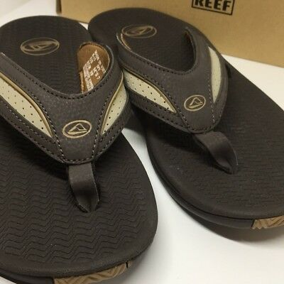 eda41911bc0 REEF MEN S FLEX Black Flip Flop Outdoor Sandal Size 7 New in Box! 7m ...
