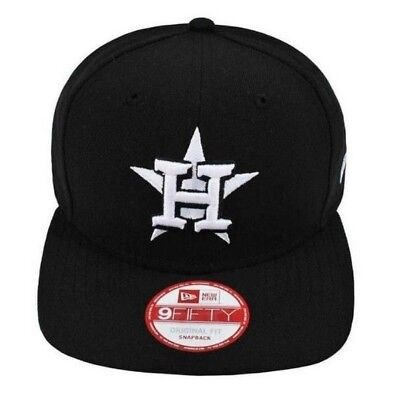 best sneakers 30709 ab2bc ... where to buy mens houston astros new era 9fifty snapback cap hat black  white mlb h