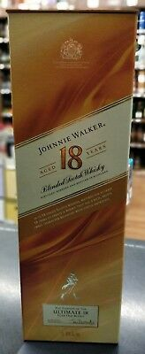 Johnnie Walker Whiskey (Aged 18 years) 1 LITER BOX ONLY