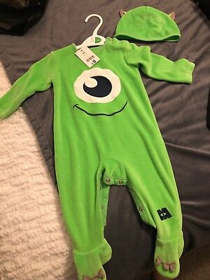 Disney mike Halloween Costume Age 6-9 Months