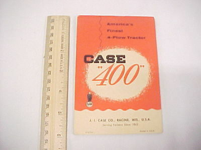 """Small Vintage Advertising Cover Notepad CASE """"400"""" """"300"""""""