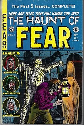 The Haunt Of Fear Comics Reprint Books Issues First 5 Issues 1 - 5 Russ Cockrum