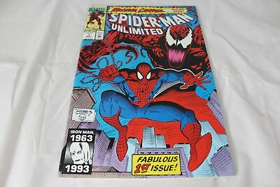 Marvel Spider-Man Unlimited Maximum Carnage Comic Book Issue #1 May 1993