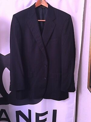 Brooks Brothers Hand Tailored 2 Button Suit Size 44L/USA