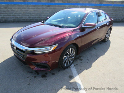 2019 Honda Insight Touring CVT Touring CVT New 4 dr Sedan CVT 1.5L 4 Cyl Crimson Pearl