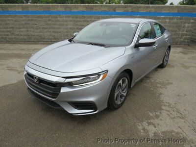 2019 Honda Insight LX CVT LX CVT New 4 dr Sedan CVT Gasoline 1.5L 4 Cyl Lunar Silver Metallic