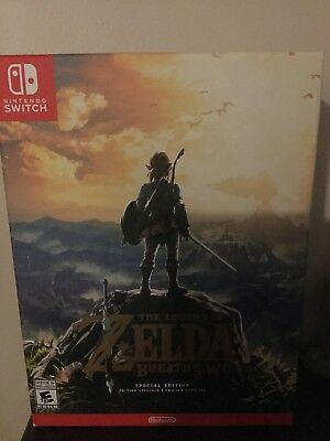 Legend of Zelda: Breath of the Wild - Special Edition (Nintendo Switch) Sealed