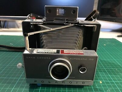 Polaroid land camera 100 - Tested and working perfectly