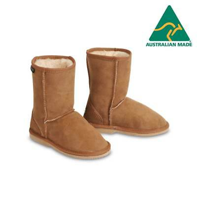 Australian Hand Made Merino Sheepskin Ugg Boots Water Resistant Kids Children