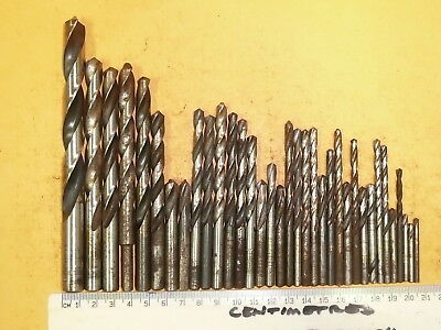 """Quantity of Drills 1/8"""" to 1/2"""" 37 pcs Quality Brands P&N + more"""