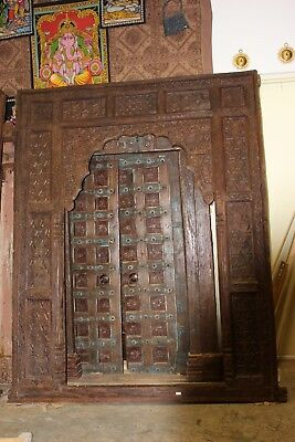 CLEARANCE SALE Antique Wooden Arch INDIAN Handcarving Door Frame Design Archway