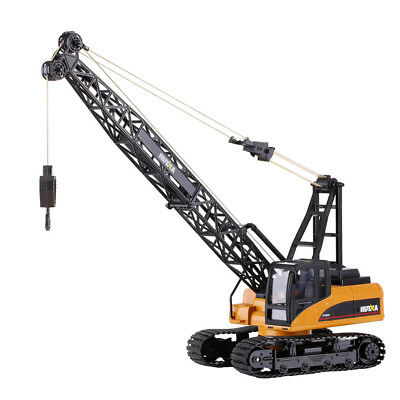 15CH Remote Control Construction Crane Engineering Truck RC Car Kids Toys Gift