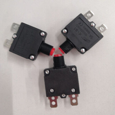 5/10/15/20A Circuit Breaker Overload Protector Switch Fuse Resettable UK Stock!!