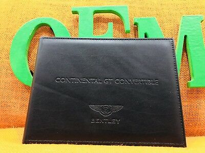2016 2017 2018 Bentley Continental Gt Convertible Speed V8 W12 Gtc Owners Manual