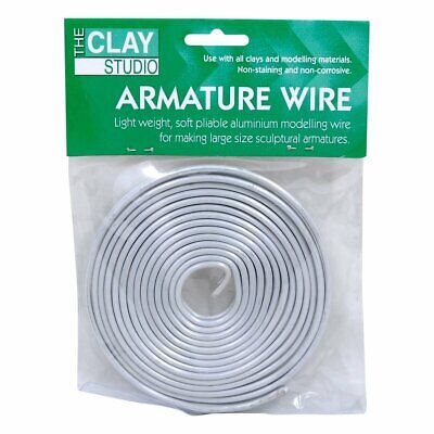 Clay Studio Aluminium Armature Wire 3 2Mmx6M