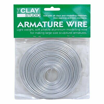 Clay Studio Aluminium Armature Wire 1 5Mmx9 75M