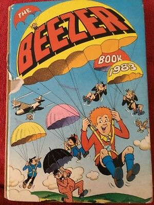 The Beezer Book Annual 1983 D.C. Thomson & Co. Ltd. Comic Strips Cartoons