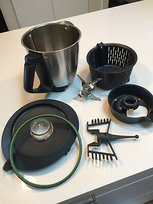 TM31 Thermomix Bowl & Blade Set & Basket & Butterfly Insert