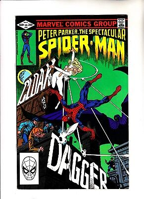 Peter Parker the Spectacular Spider-Man 64 1st app of Cloak and Dagger