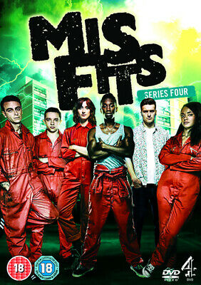 Misfits: Series 4 DVD (2012) Joe Gilgun ***NEW***