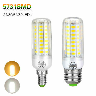 E27 E14 7W 9W 15W 20W 25W LED Corn Bulb Light 5730 SMD Lamp 110V 220V