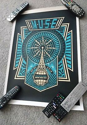 Muse Manchester Arena 09/04/16 (Drones World Tour) Event Poster / Print # 87/100