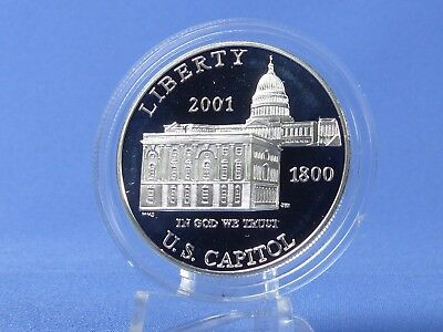 1 Dollar USA 2001, Capitol Visitor Center , Silber *PP/Proof* (19284)