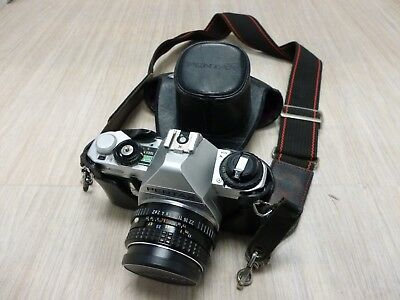 PENTAX - MG - CAMERA AND CASE With 50mm Lens