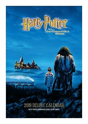 Official 2019 Harry Potter Deluxe Calendar A3 Envelope Film Wall Hanging