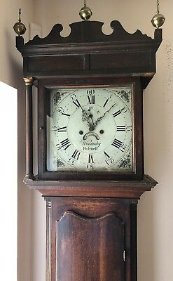Winstanley Of Holywell Antique Longcase Grandfather Clock